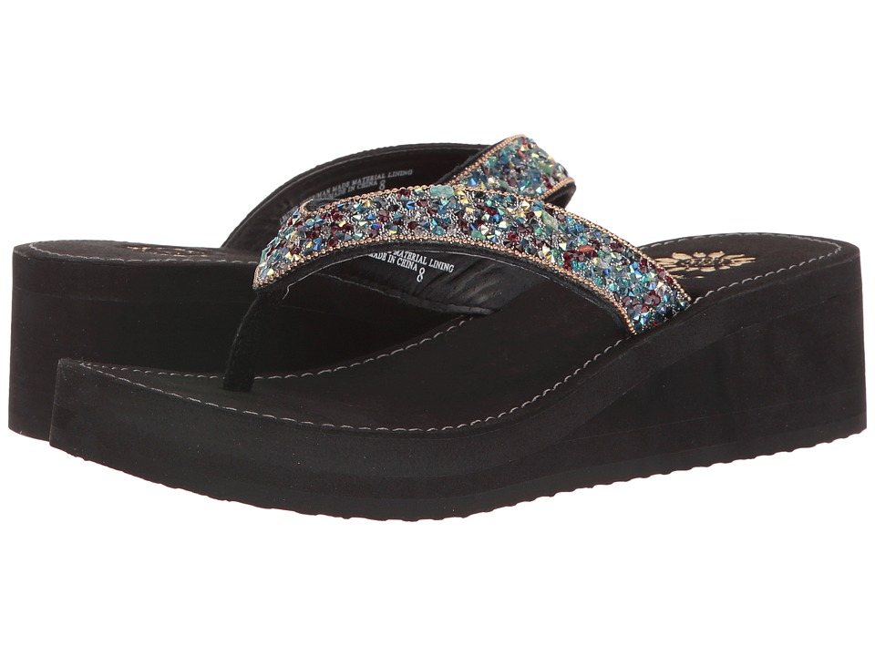 Yellow Box - Festival (Black) Women's Sandals