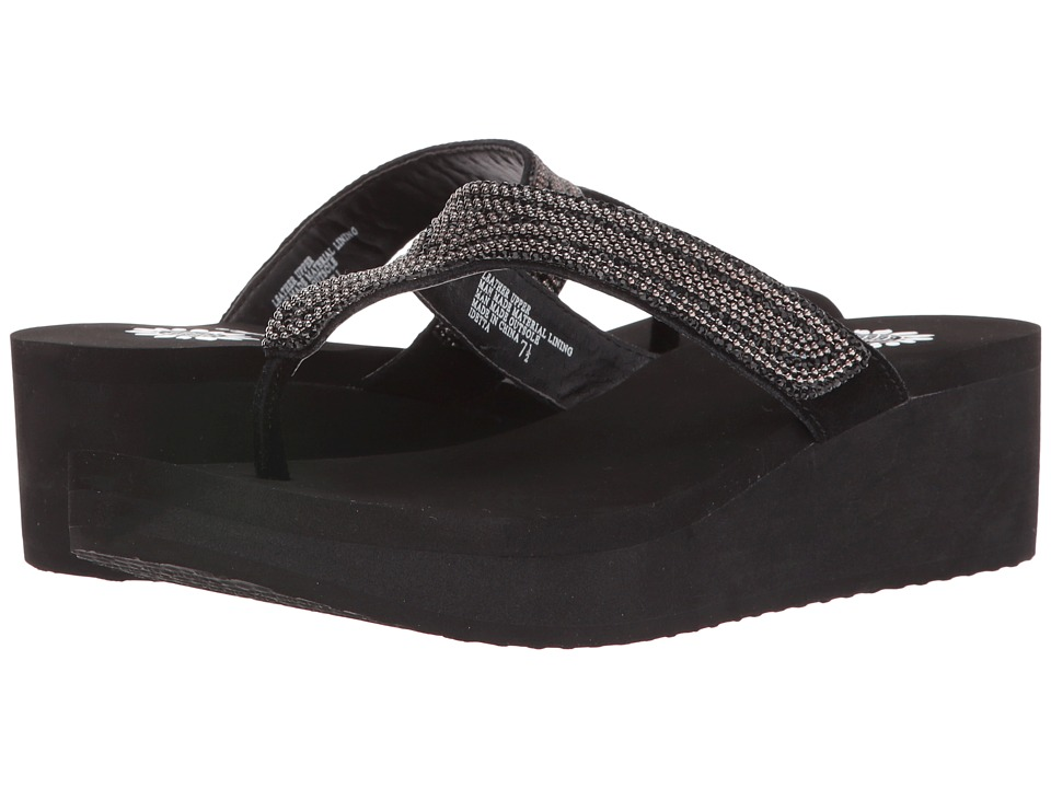Yellow Box - Idetta (Black) Women's Sandals