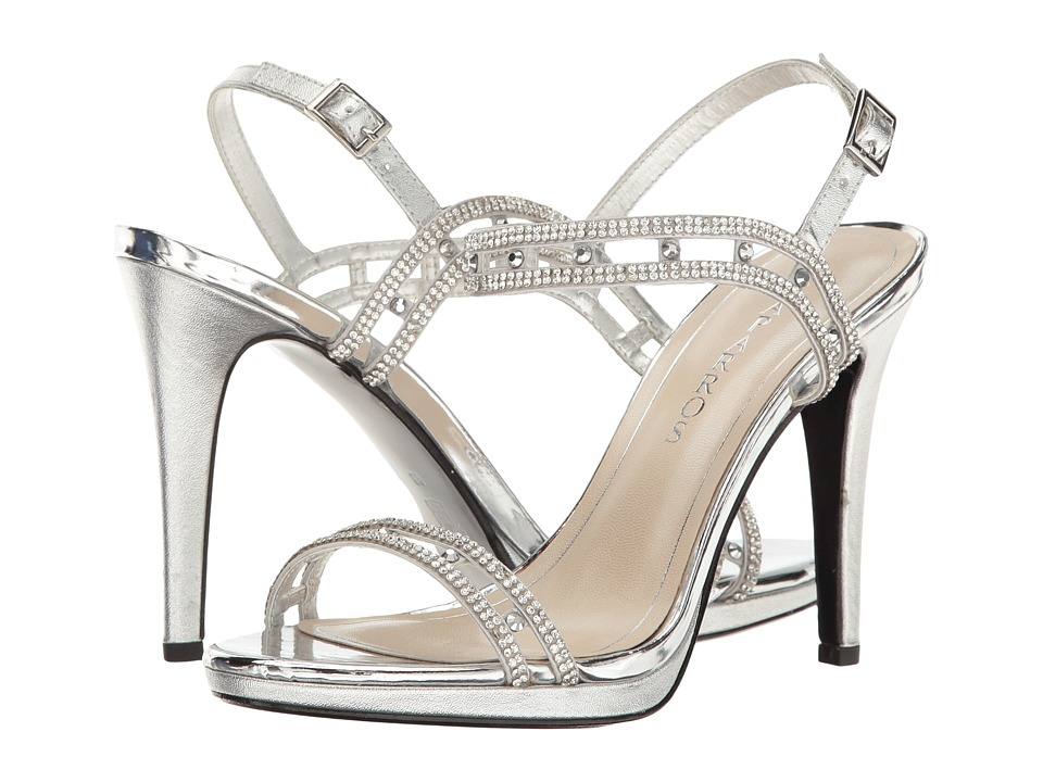 Caparros Highlite (Silver Metallic) High Heels