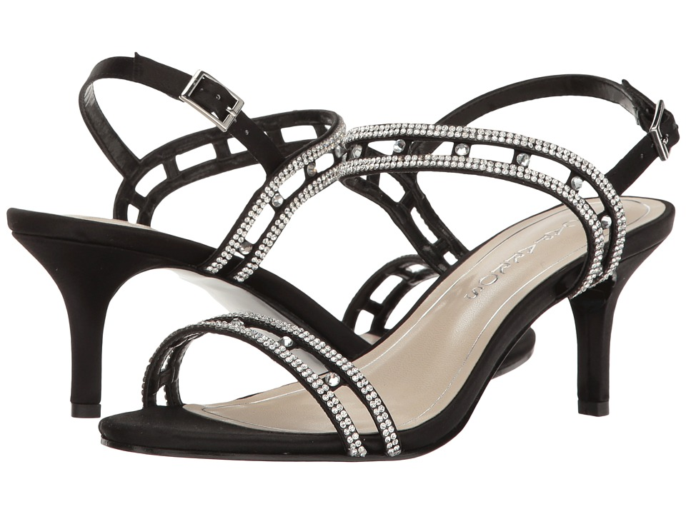 Caparros - Happy (Black Clear Satin) High Heels