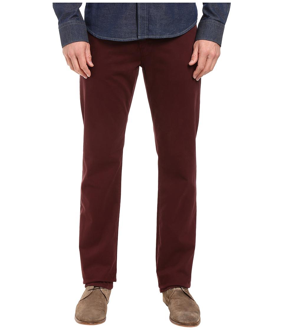 AG Adriano Goldschmied - Graduate Tailored Leg Sueded in Rum Raisin (Rum Raisin) Men's Jeans