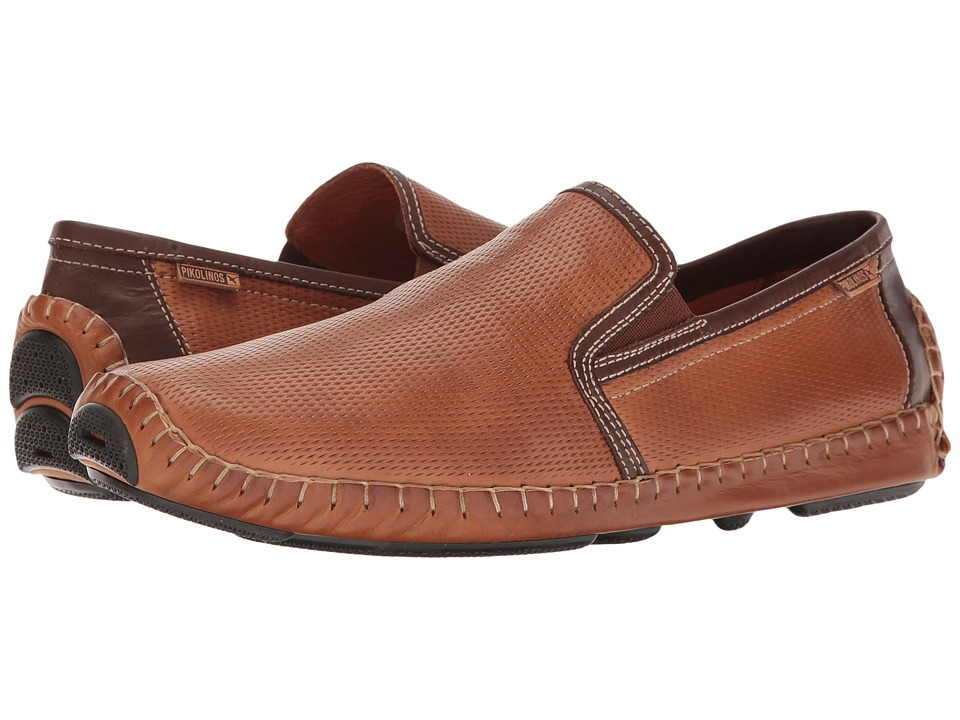 Pikolinos - Jerez 09Z-3090 (Brandy Olmo) Men's Slip on Shoes