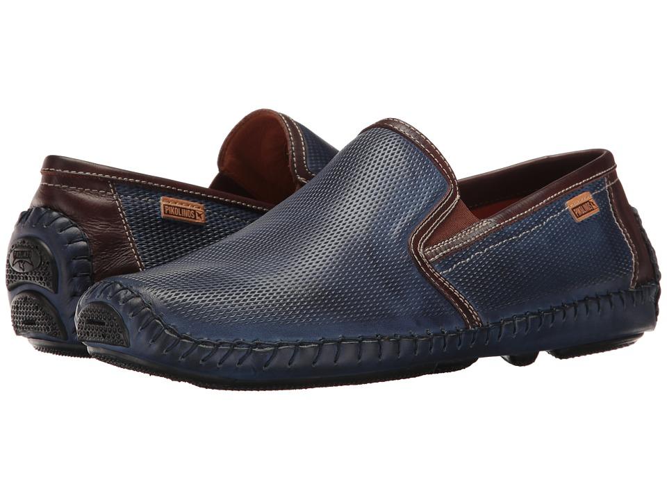 Pikolinos - Jerez 09Z-3090 (Nautic Olmo) Men's Slip on Shoes