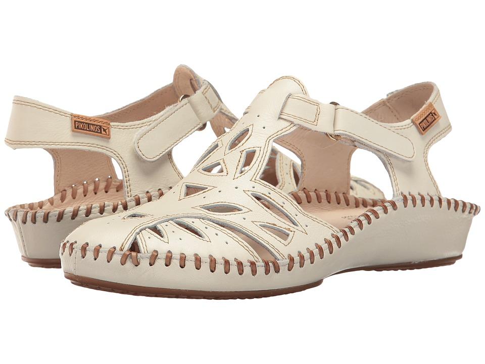 Pikolinos - Puerto Vallarta II 655-8312L (Nata Castor) Women's Hook and Loop Shoes