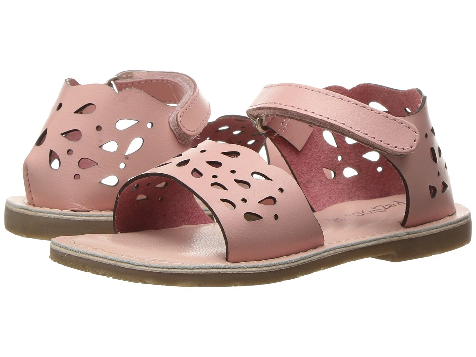 Pazitos - Droplets (Toddler) (Pink) Girl's Shoes