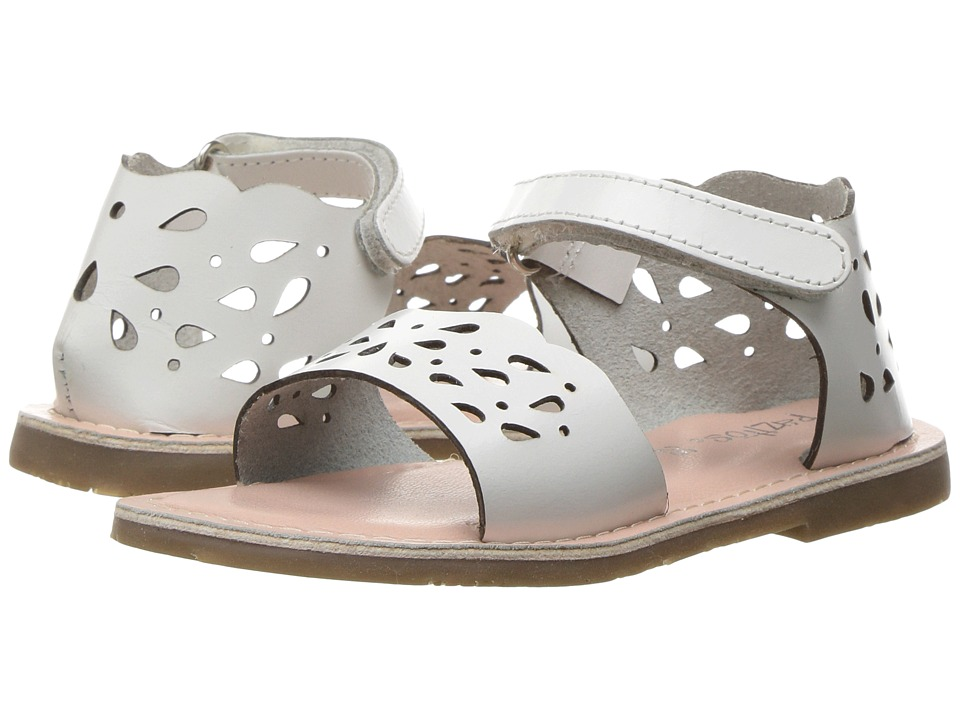 Pazitos - Droplets (Toddler) (White) Girl's Shoes