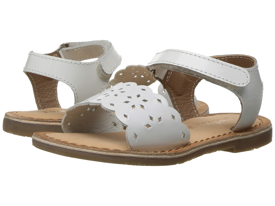 Pazitos - Tic-Tac-Toe (Toddler) (White) Girl's Shoes