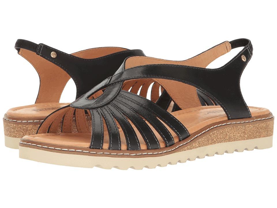 Pikolinos - Alcudia W1L-0860 (Black/Black) Women's Shoes