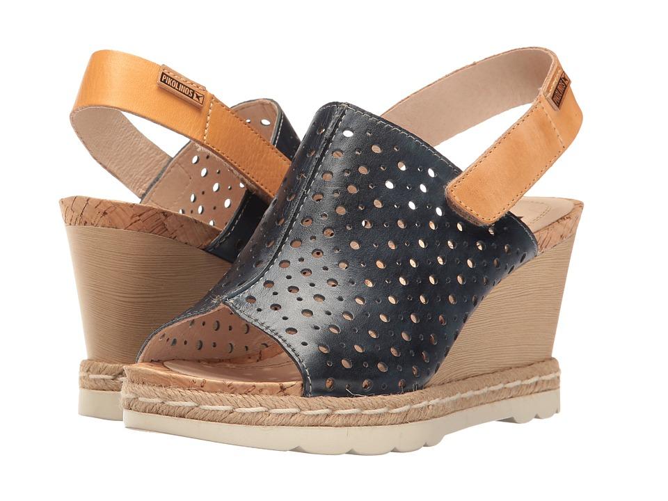 Pikolinos - Bali W3L-0922 (Blue/Camel) Women's Shoes