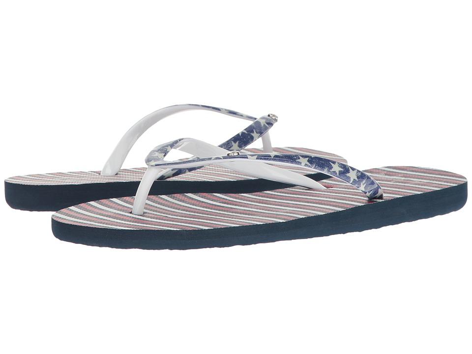 Roxy - Portofino (Red/White/Blue) Women's Sandals