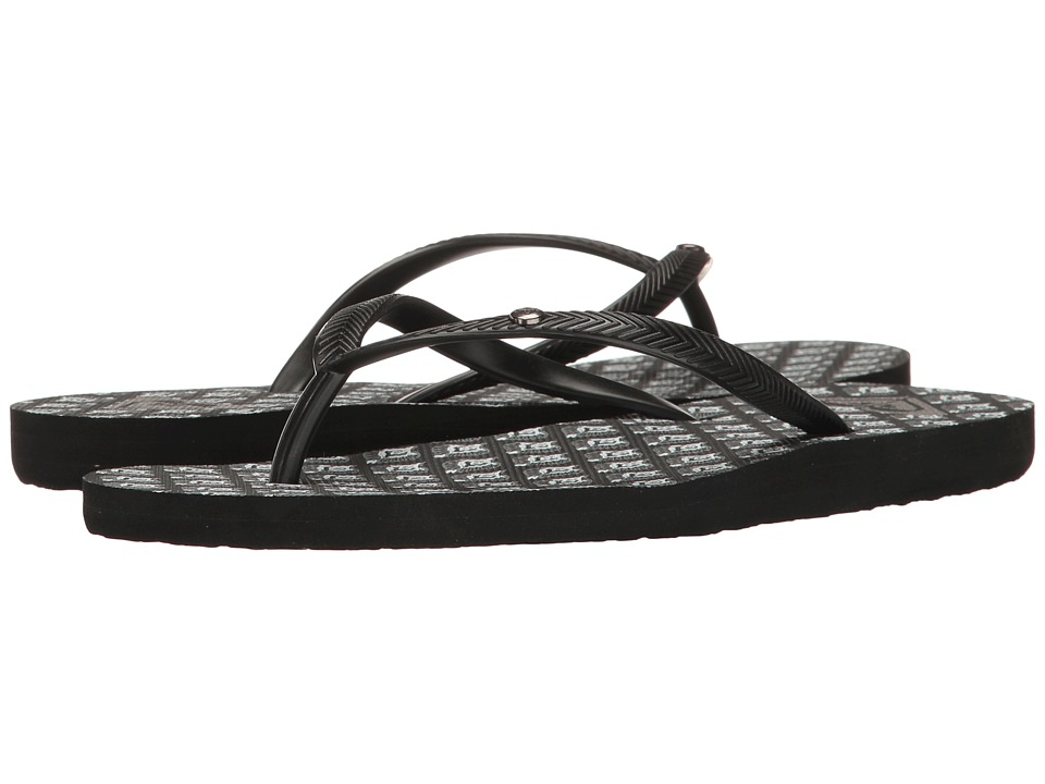 Roxy - Bermuda (White/Black Basic) Women's Sandals