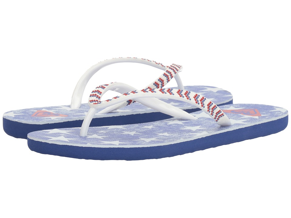 Roxy - Sandee IV (Red/White/Blue) Women's Sandals