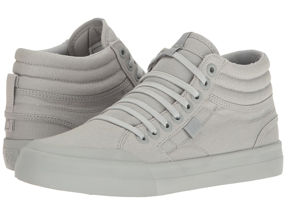 DC - Evan Hi TX (Grey) Women's Shoes