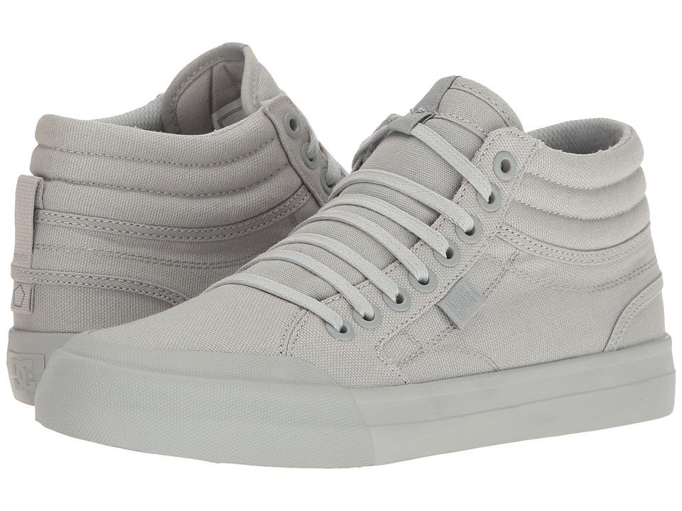 DC - Evan Hi TX (Grey) Women's Shoes