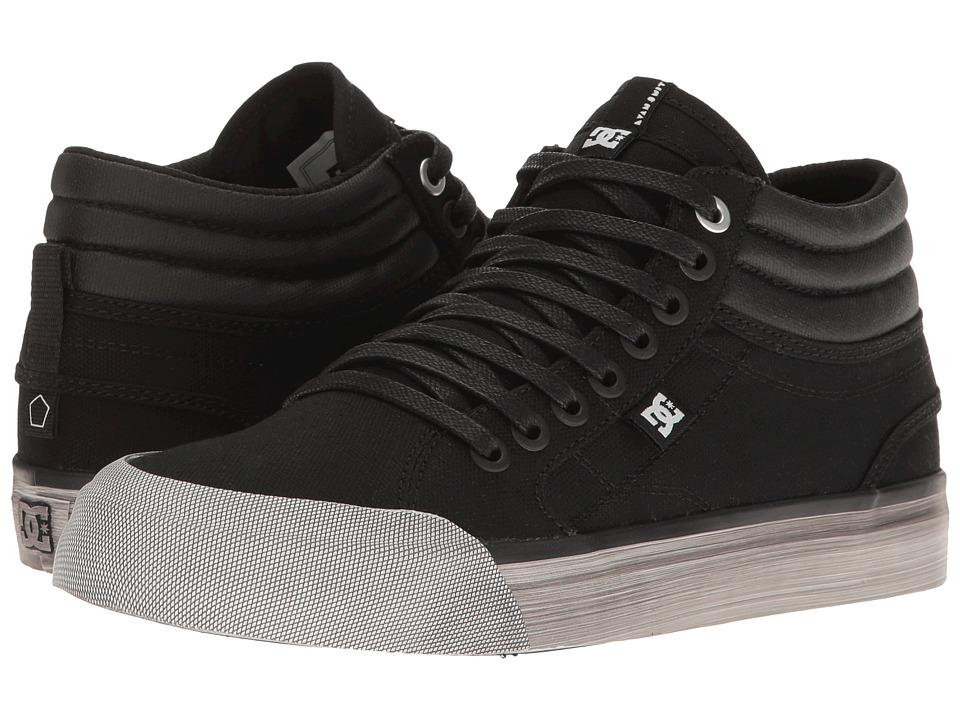 DC - Evan Hi TX SE (Black Acid) Women's Skate Shoes
