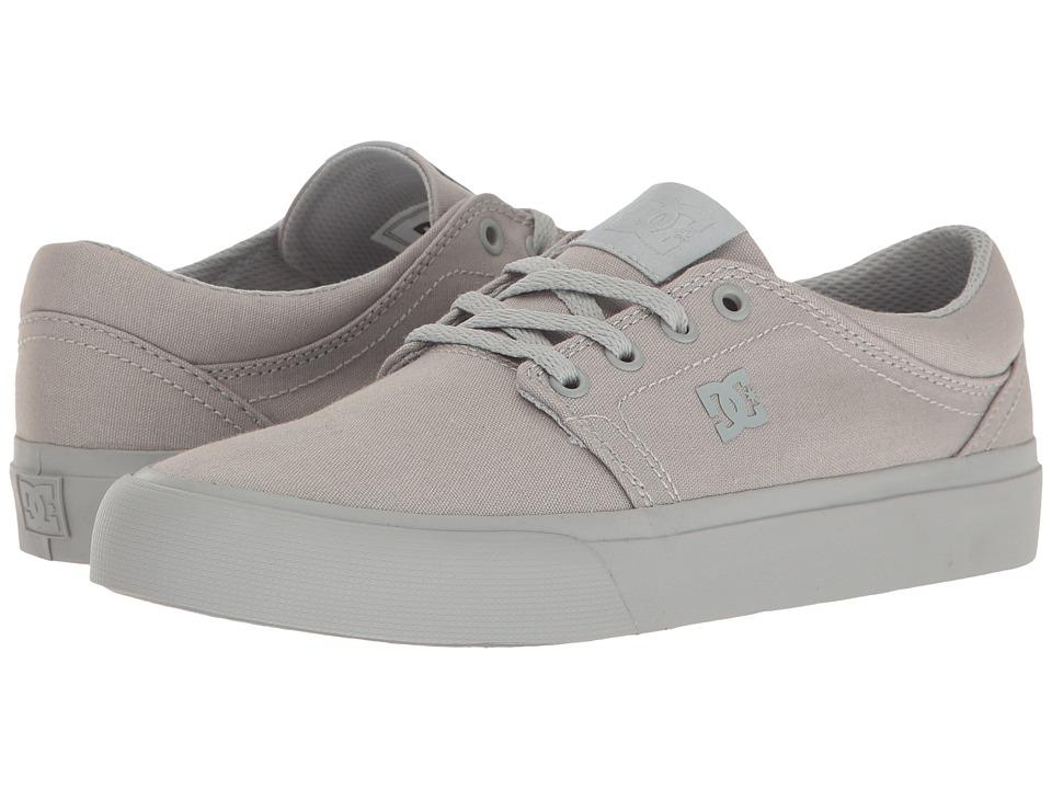 DC - Trase TX (Grey/Grey/Grey) Women's Skate Shoes