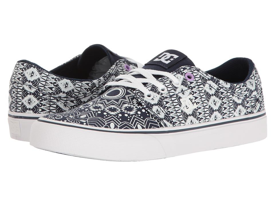 DC - Trase TX SE (Navy/White 2) Women's Skate Shoes