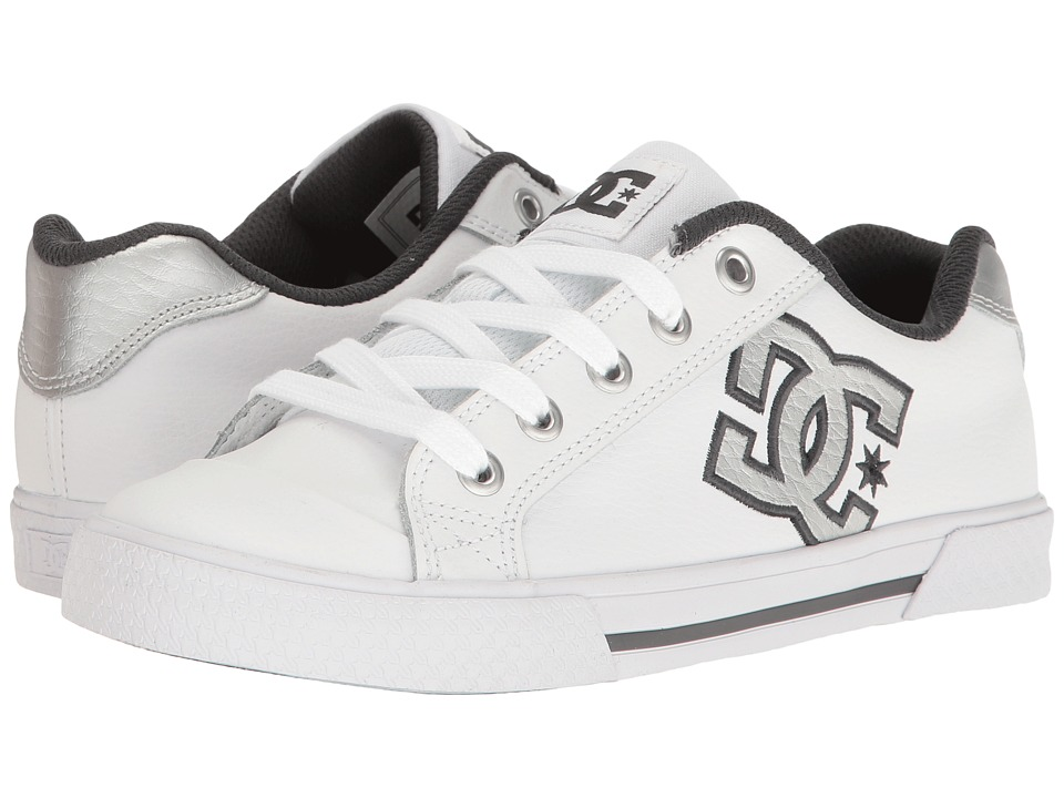 DC - Chelsea SE W (White/Grey/Grey) Women's Skate Shoes