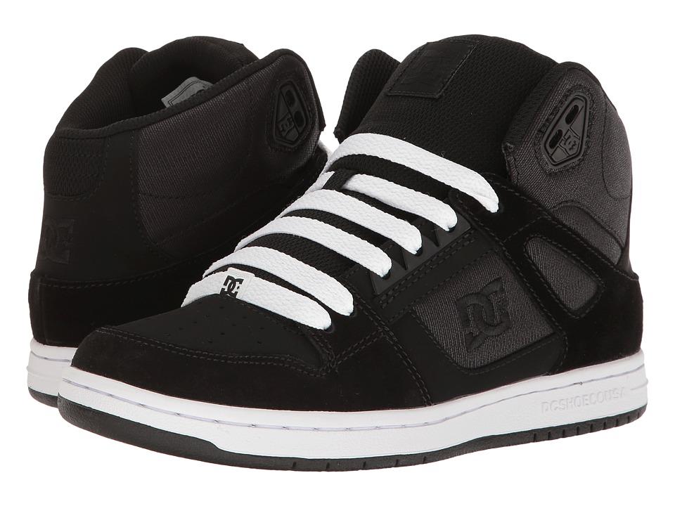 DC - Rebound High SE (Black Rinse) Women's Skate Shoes