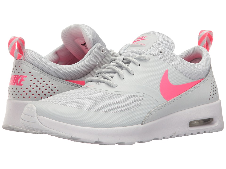 Nike Kids Air Max Thea (Big Kid) (Pure Platinum/Racer Pink/White) Girls Shoes