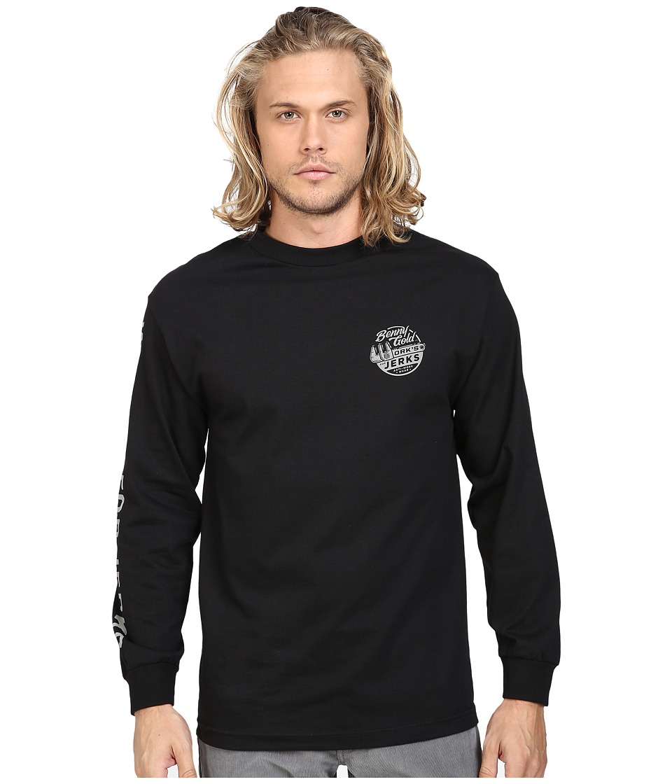 Benny Gold - Wrench Long Sleeve T-Shirt (Black) Men's Long Sleeve Pullover