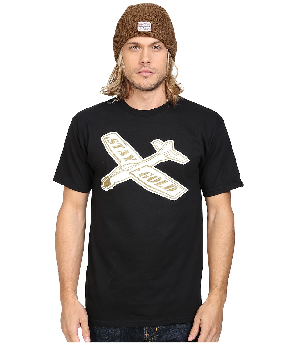 Benny Gold - Classic Glider T-Shirt (Black/Gold) Men's T Shirt