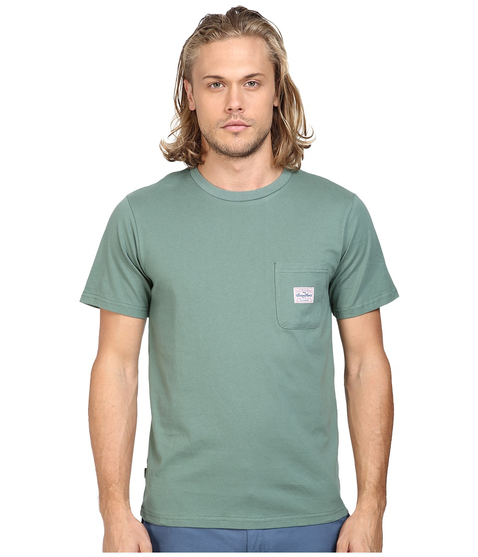 Benny Gold - Premium Pocket T-Shirt (Army Green) Men's T Shirt
