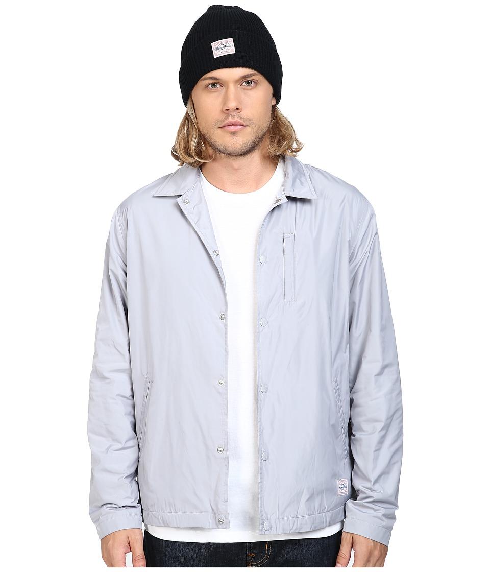 Benny Gold - Stay Gold Coach Jacket (Grey) Men's Coat