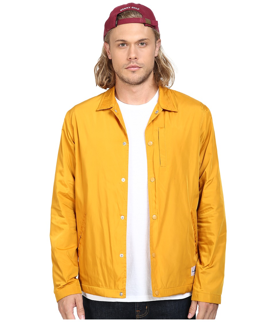 Benny Gold - Stay Gold Coach Jacket (Mustard) Men's Coat