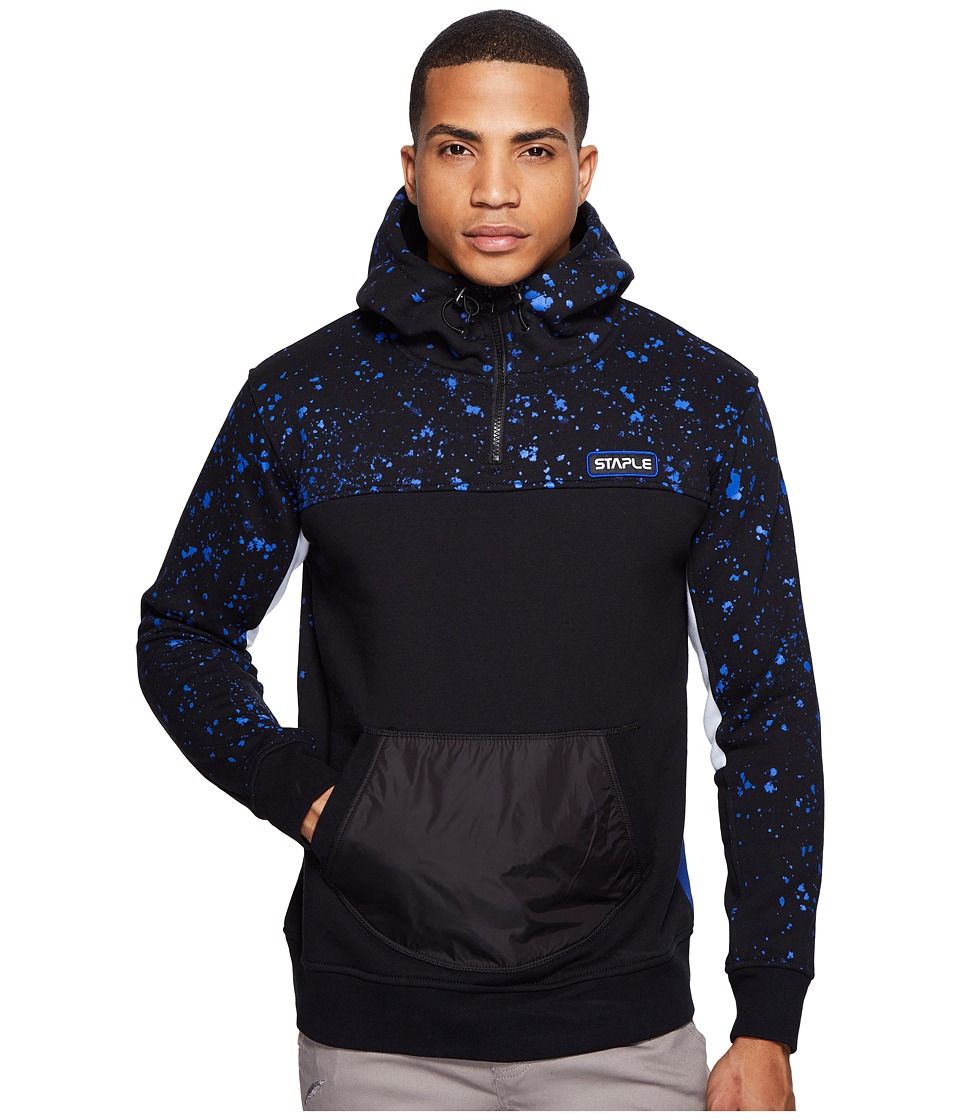 Staple - Space Hoodie (Black) Men's Sweatshirt