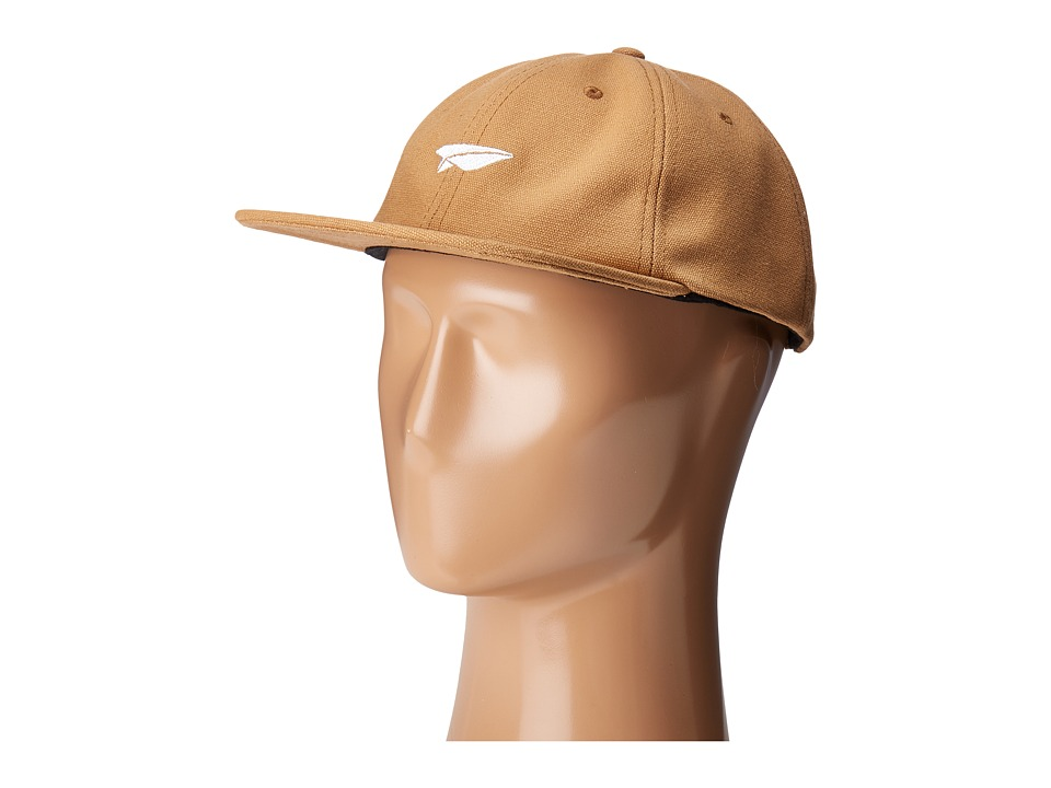 Benny Gold - Paper Plane Canvas Polo Hat (Khaki) Caps