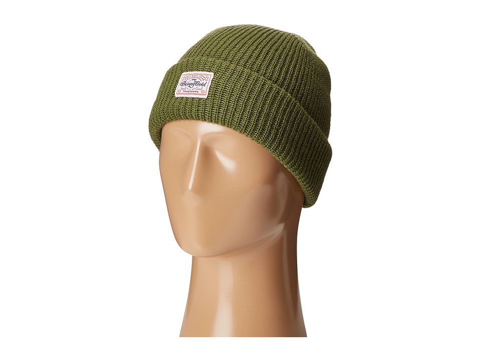 Benny Gold - Anti-Work Beanie (Army Green) Beanies