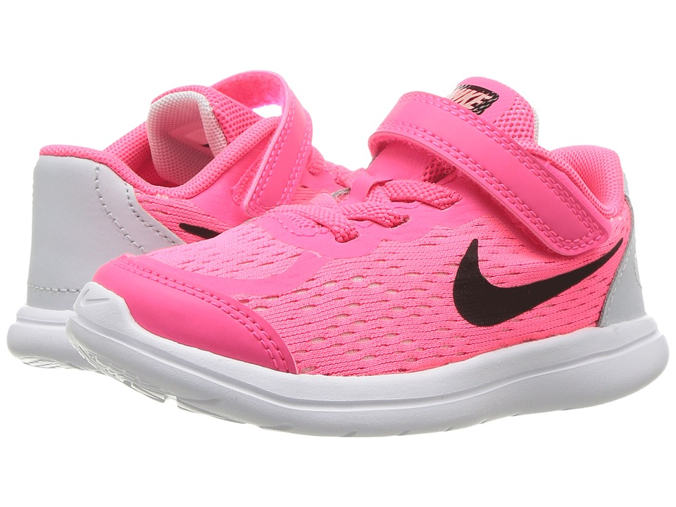 Nike Kids - Free RN Sense (Infant/Toddler) (Racer Pink/Black/Pure Platinum/Lava Glow) Girls Shoes