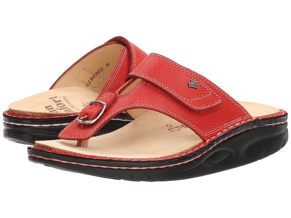Finn Comfort - Calmasino (Signal Red Eldora) Women's Sandals