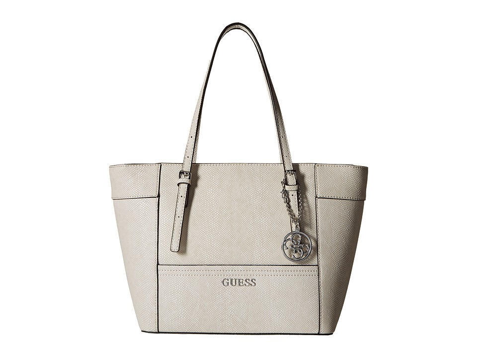 GUESS - Delaney Small Classic Tote (Bone) Tote Handbags