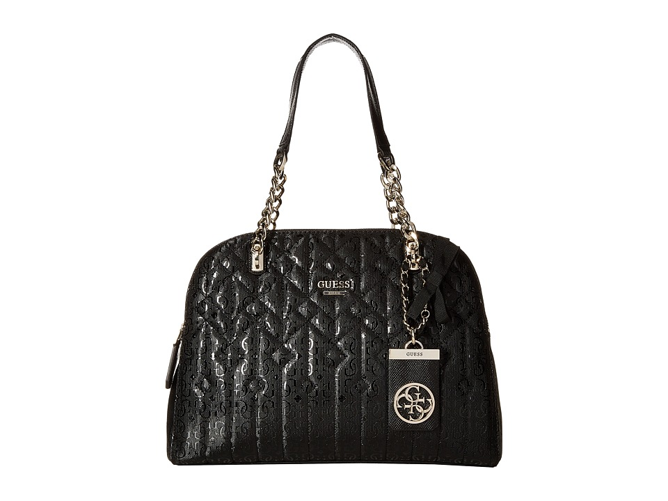 GUESS - Malena Cali Satchel (Black) Satchel Handbags