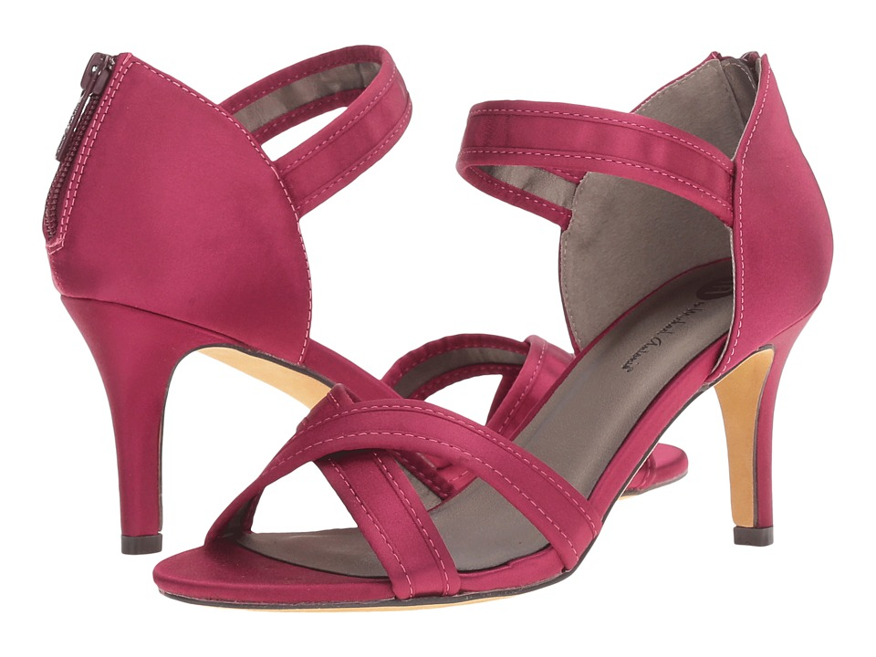 Michael Antonio - Reece - Satin (Cranberry) High Heels