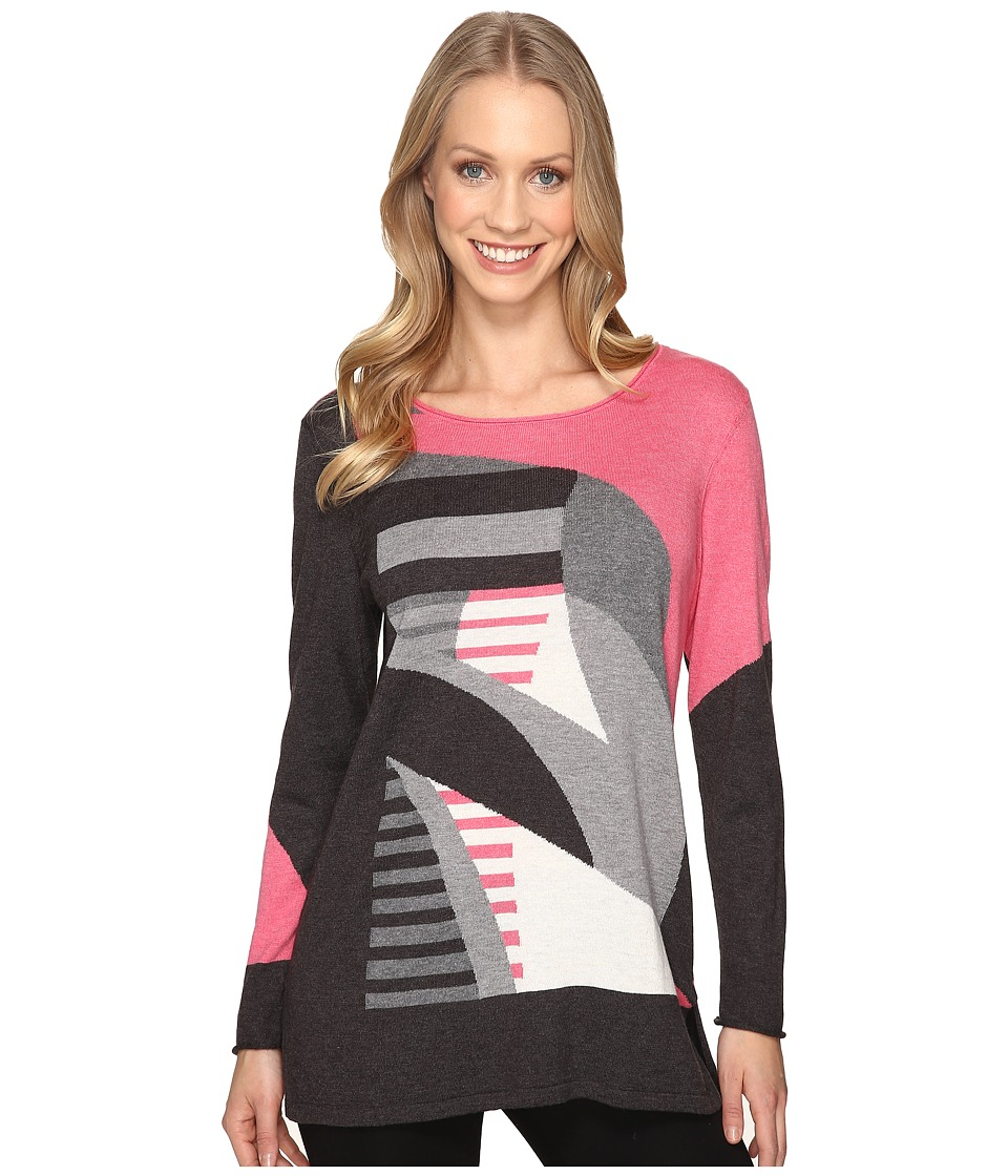 NIC+ZOE - Sunbent Sweater (Multi) Women's Clothing