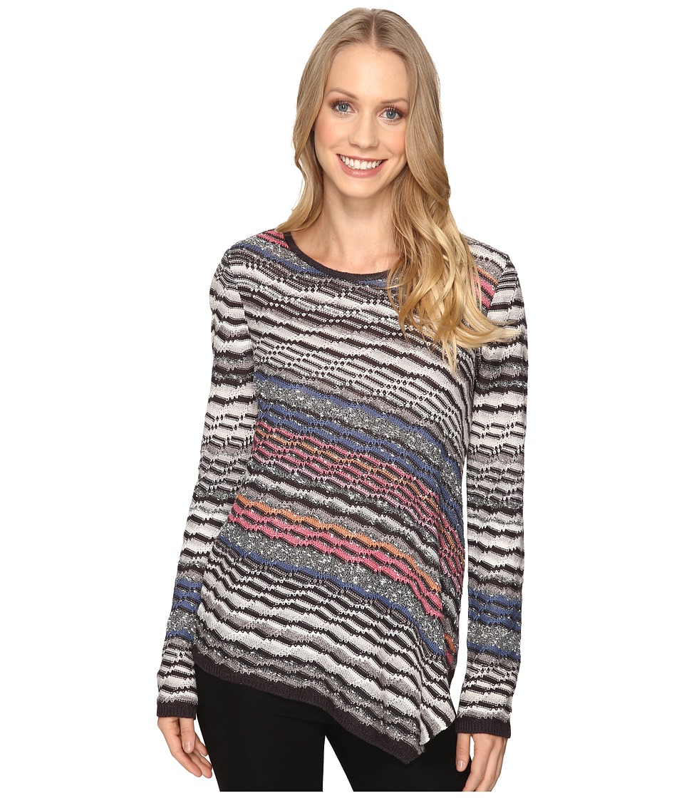 NIC+ZOE - Crosswise Top (Multi) Women's Sweater