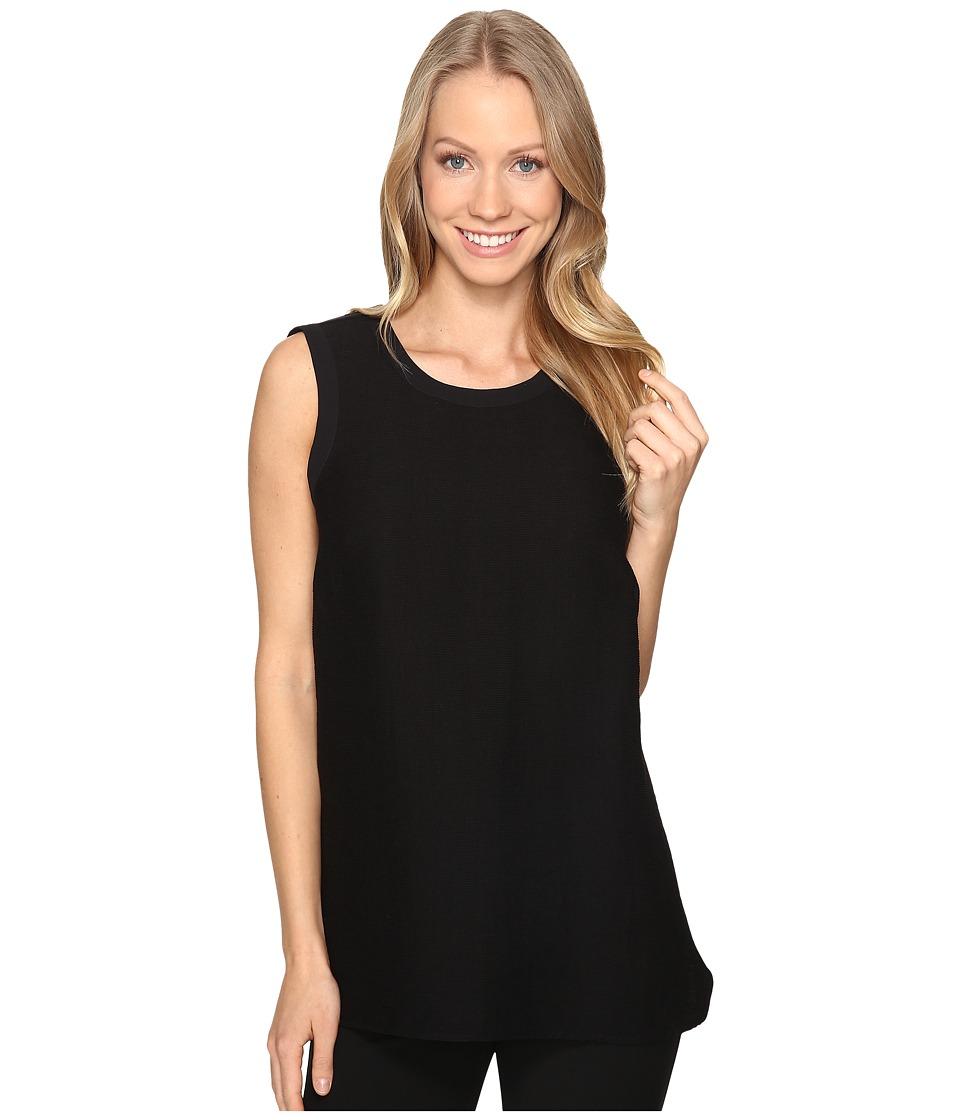 NIC+ZOE - Luxe Harmony Top (Black Onyx) Women's Clothing