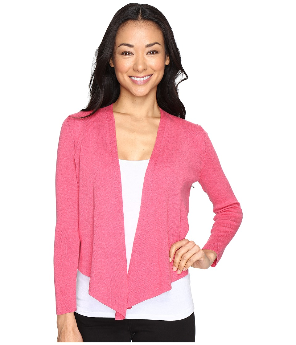 NIC+ZOE - Petite 4-Way Cardy (French Rose) Women's Sweater