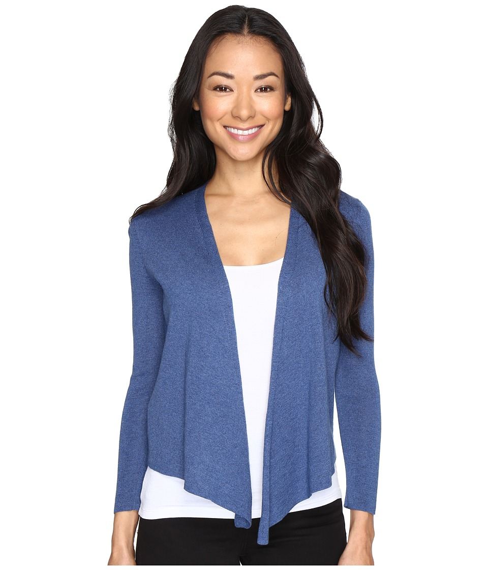 NIC+ZOE - Petite 4-Way Cardy (Blue Opal) Women's Sweater