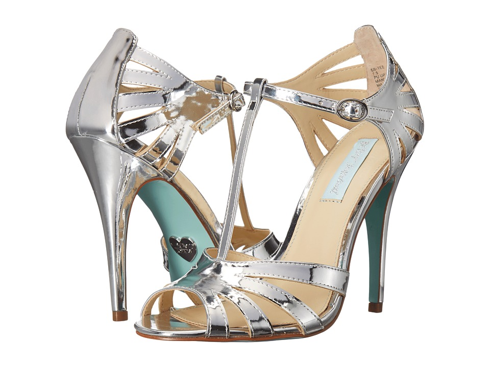 Blue by Betsey Johnson - Tee (Silver Foil) High Heels