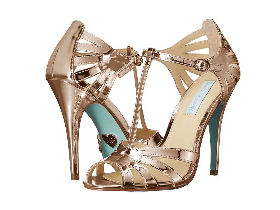 Blue by Betsey Johnson Tee (Rose Gold) High Heels