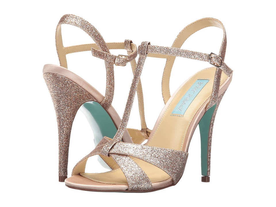 Blue by Betsey Johnson - Teena (Champagne Glitter) High Heels