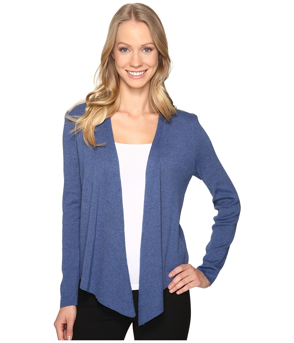 NIC+ZOE - 4-Way Cardy (Blue Opal) Women's Sweater