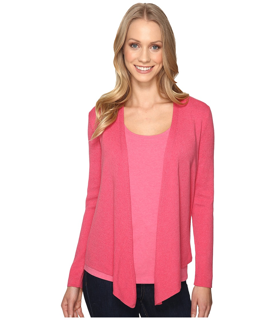 NIC+ZOE - 4-Way Cardy (French Rose) Women's Sweater