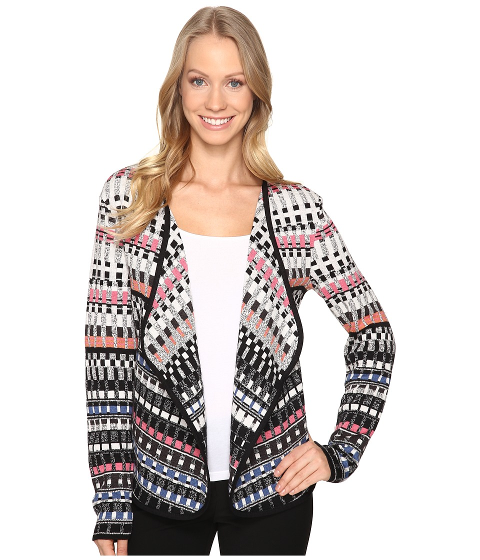 NIC+ZOE - Flashing Lights Cardy (Multi) Women's Sweater