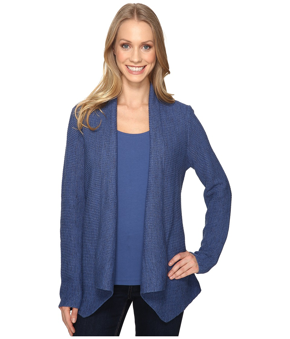 NIC+ZOE - Pixel Pop Cardy (Blue Opal) Women's Sweater