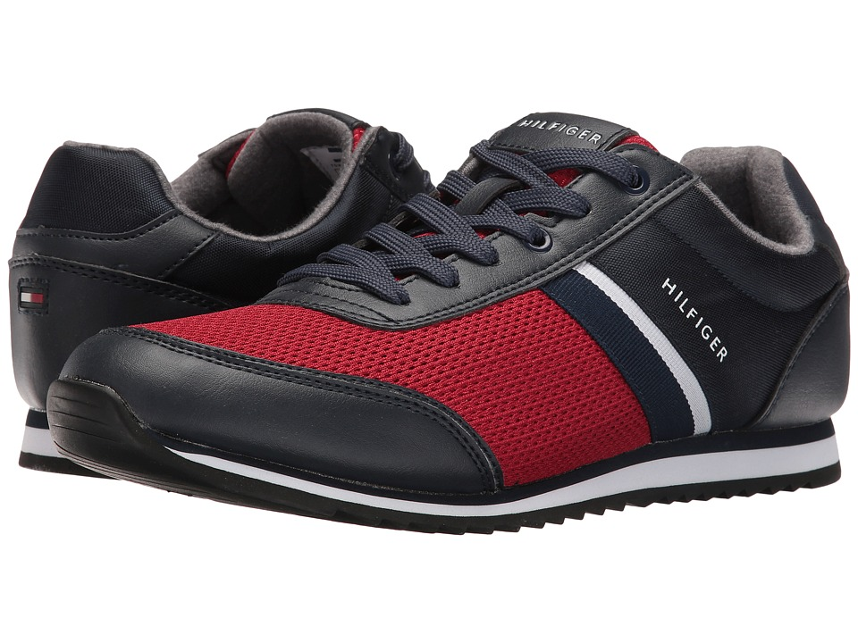 Tommy Hilfiger - Fallon (Navy/Red) Men's Shoes